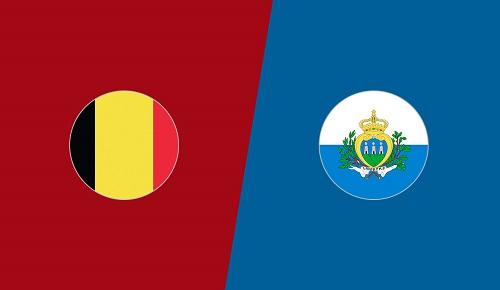 Belgium vs San-Marino Euro 2020