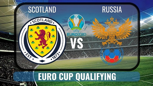 Russia v Scotland Euro 2020 Qualifying