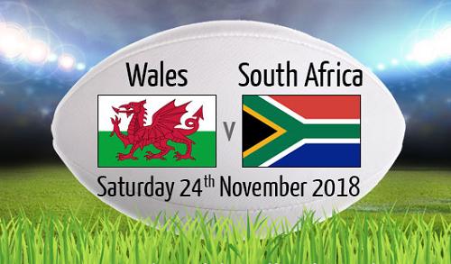 Wales V South Africa RWC 2019